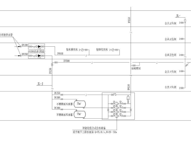 [广州]珠江新城核心商务区超高层(432m)综合体给排水消防全套图纸(标志性建筑,含详细设计说明书)_2