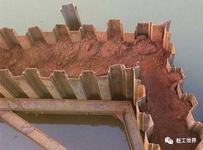 拉森钢板桩施工遇到问题怎么办