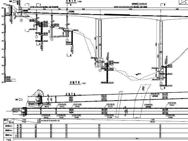 (65+120+65)m三跨三向预应力连续刚构箱梁主桥+预应力T梁引桥工程图纸189张