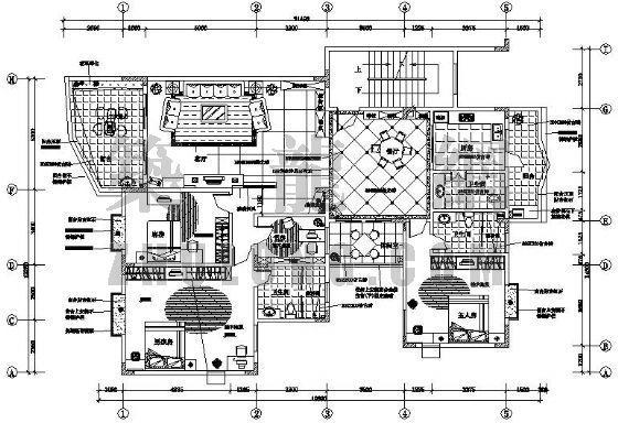 五室两厅三卫装修图(带空中花园)