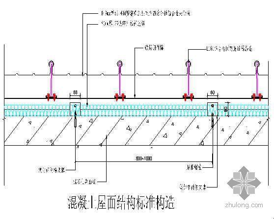 宁夏某住宅小区金属屋面施工方案(坡屋面)