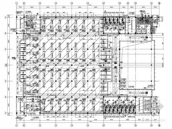 [江苏]高等院校图书馆空调通风及防排烟系统设计施工图(大院出品)