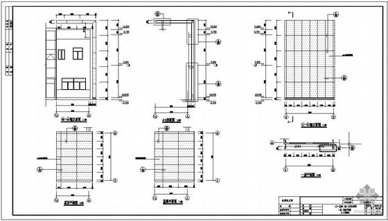 某公司扩建工程幕墙钢构结构设计图