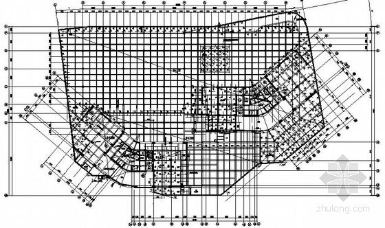 [深圳]某超高50层框架核心筒公寓楼结构施工图(地下与裙房部分)