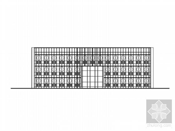 某雨污水泵站调度指挥中心及附属用房建筑方案图