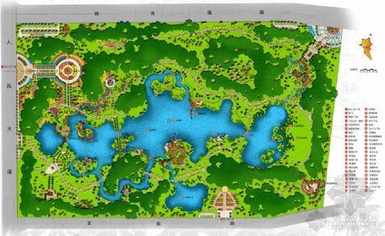 广东湛江公园景观规划设计方案