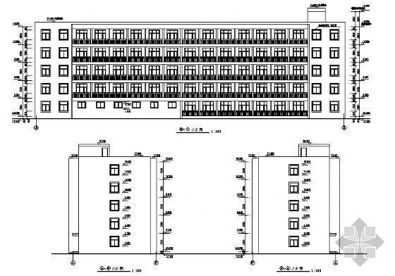 公司宿舍楼建筑施工图-2