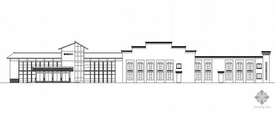 [江西]某仿古二层酒店会议中心建筑扩初和结构扩初