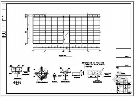 某钢结构楼承板节点构造详图