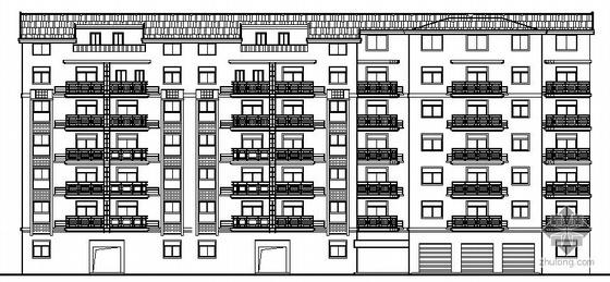 某六层商住楼建筑施工图