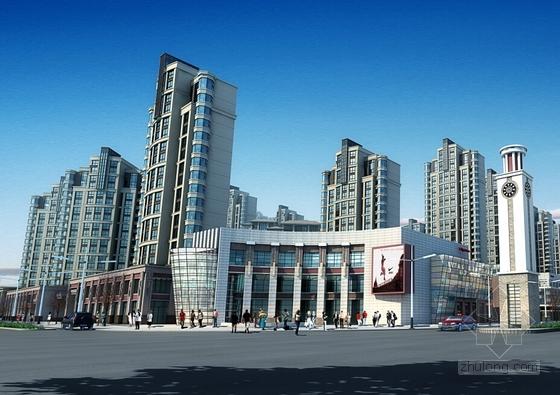 [甘肃]广场文本设计商贸方案建筑设计城市方案(高层机械)多个综合减速箱设计图片