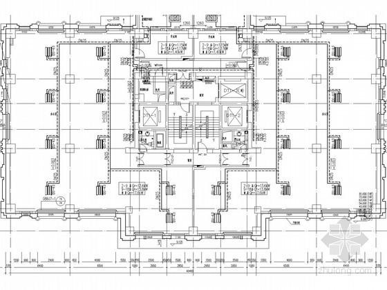 [北京]公建混合住宅项目采暖空调通风防排烟系统设计施工图(系统图详图多)