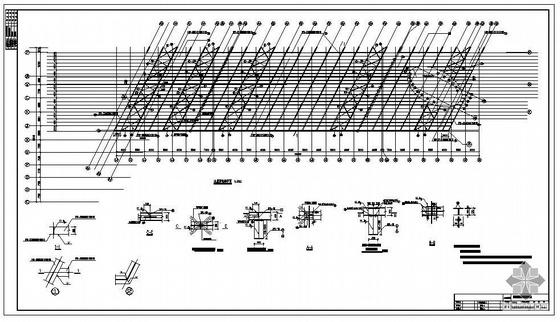 北京某客运枢纽钢结构深化设计图