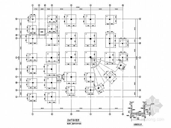 [江西]地上四层现浇框架结构图书馆结构施工图