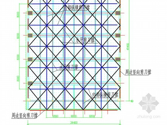 [广东]综合教学楼扣件式钢管高支模专项施工方案(多图)