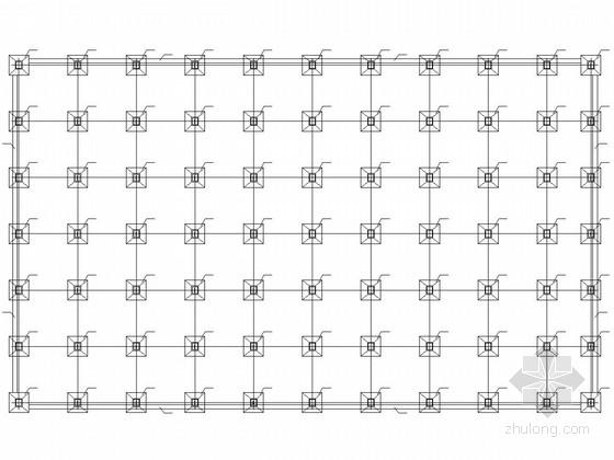 48米轻钢结构厂房结构施工图(含建施)