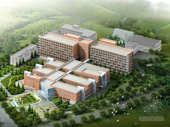 [丹东]某人民医院总体规划及建筑设计