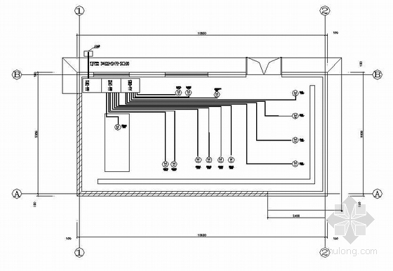 [北京]某公交车站空调机房电气图纸