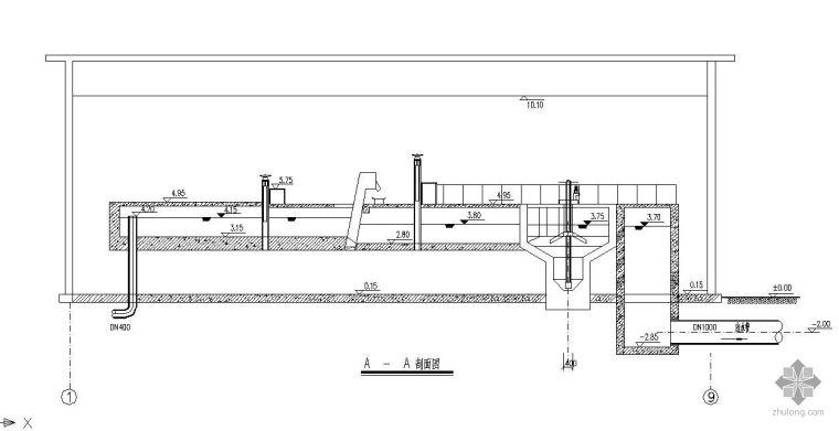 某市污水处理厂卡鲁塞尔氧化沟工艺全套设计图纸