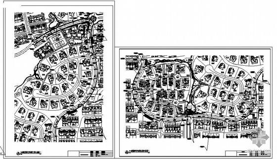 [江苏南京]某小区别墅环行道路施工图