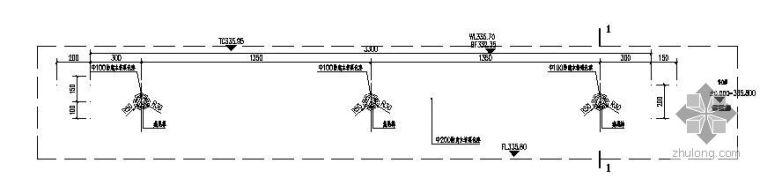 防腐木栏杆施工详图