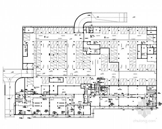 [山东]重点大学校区采暖空调及通风排烟系统设计施工图(含节能设计)