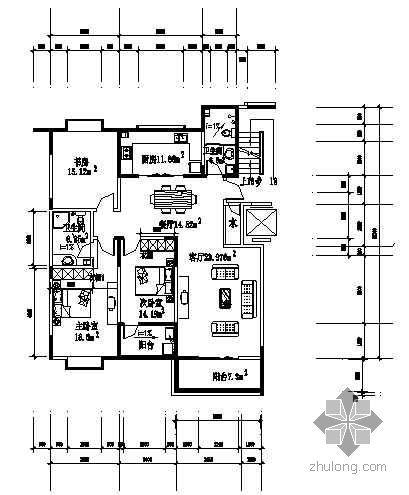 某三室两厅装修图纸