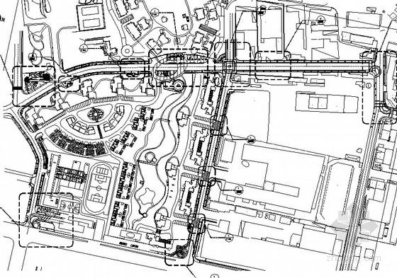海景沿山路园林景观工程园建施工图