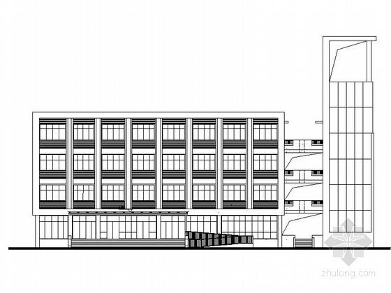 [昆明]某四层办公楼建筑施工图