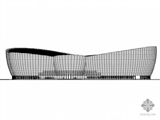 某东方艺术中心主体建筑施工图
