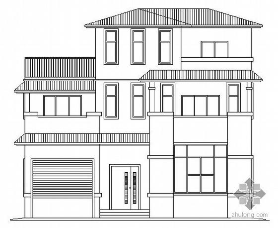 某三层别墅建筑施工图(带效果图)