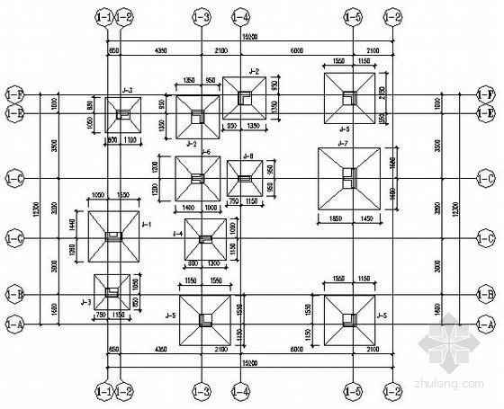 [海南]某框架别墅结构施工图(坡屋面)