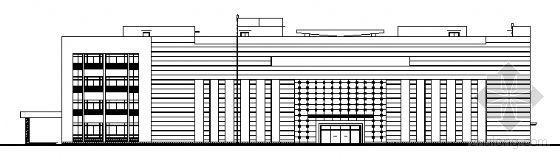 某四层医院门诊大楼建筑方案图