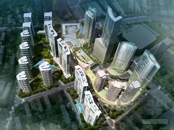 [青岛]现代风格商业区规划及单体设计方案文本