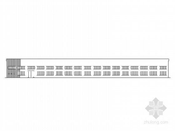 [廊坊]某单层钢结构厂房建筑施工套图