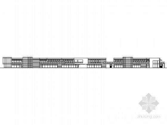 [南昌]某四层沿街商业建筑施工图(八栋)