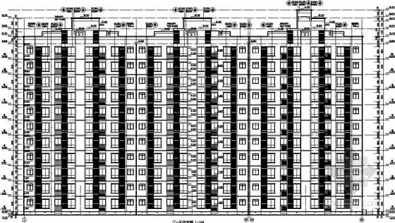 [湖南]11层短肢剪力墙公寓楼结构施工图