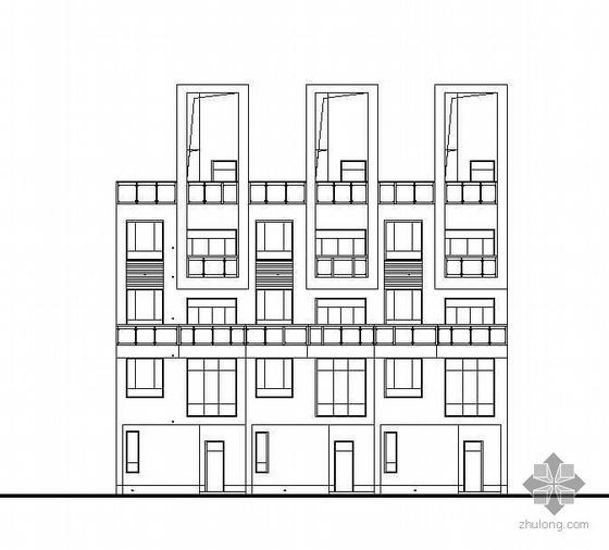 [湖南长沙]三组某钢结构别墅建筑设计方案扩初