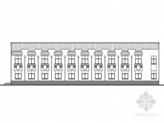 [怀化]某电力公司综合楼3号楼建筑施工图