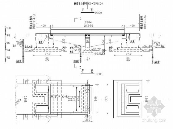 2-10m钢筋混凝土空心板桥全套施工图(27张)