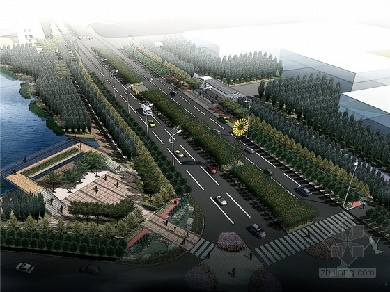 [武汉]城市生态交通大道二期详细深化景观设计方案