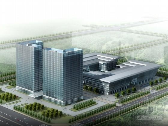 [合肥]某25层商业综合楼设计方案文本(含CAD)