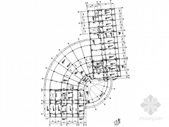 十一层框架办公楼结构施工图