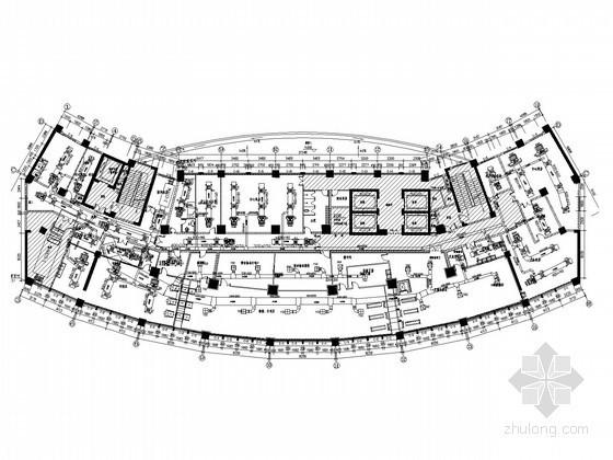 ICU净化系统资料下载-[湖北]医院住院楼空调净化工程设计施工图