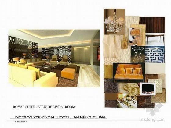 [南京]全球奢华五星级酒店客房设计方案图
