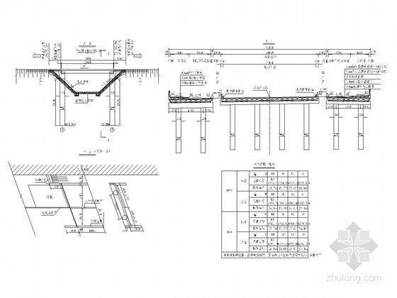 板长13m预应力钢筋混凝土空心板梁桥设计图(34张)