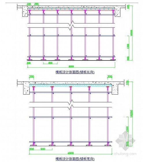 [天津]高大模板施工方案(10m跨度 品茗安全计算软件)