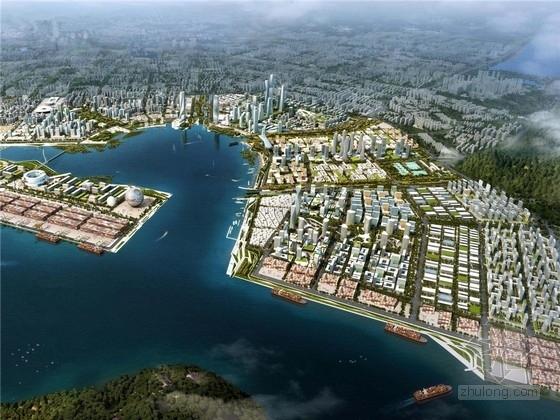 [深圳]前海滨水景观概念规划与绿化设计(两大著名景观公司合作)