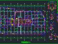 25层华润框架核心筒商业办公楼结构施工图