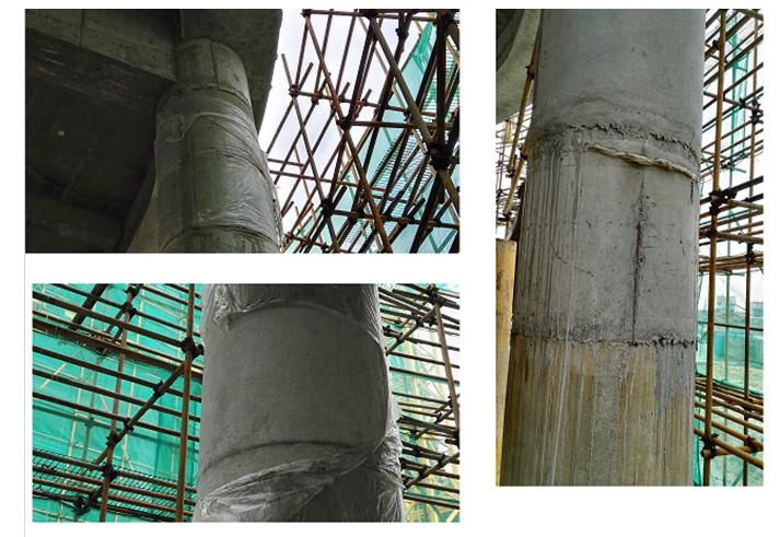 [QC成果]提高圆柱模板施工合格率